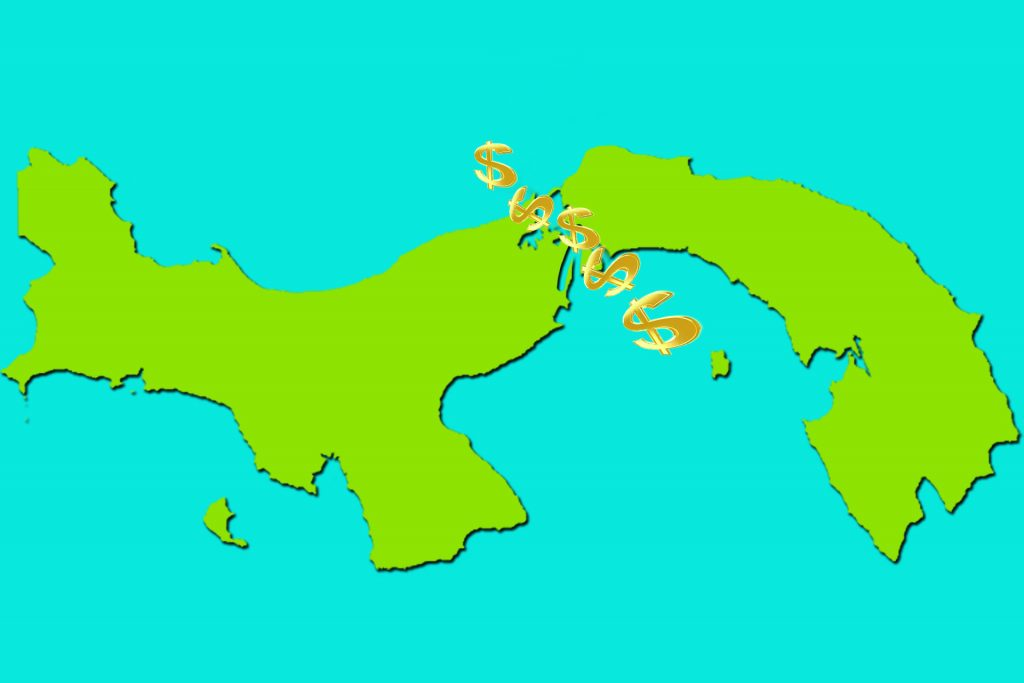panama map cash