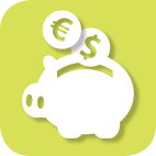 currency symbols and savings