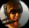 Liz Larroquette in Bern's Helicopter