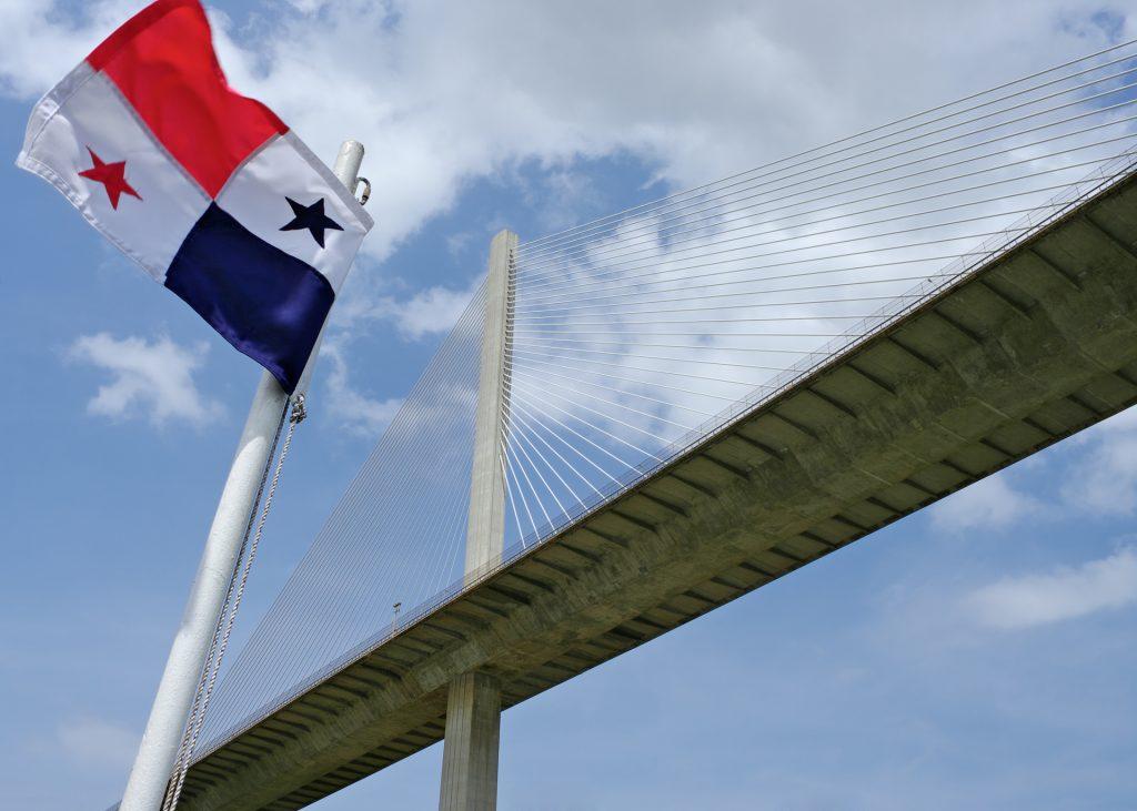 Bridge Sky Panama Flag