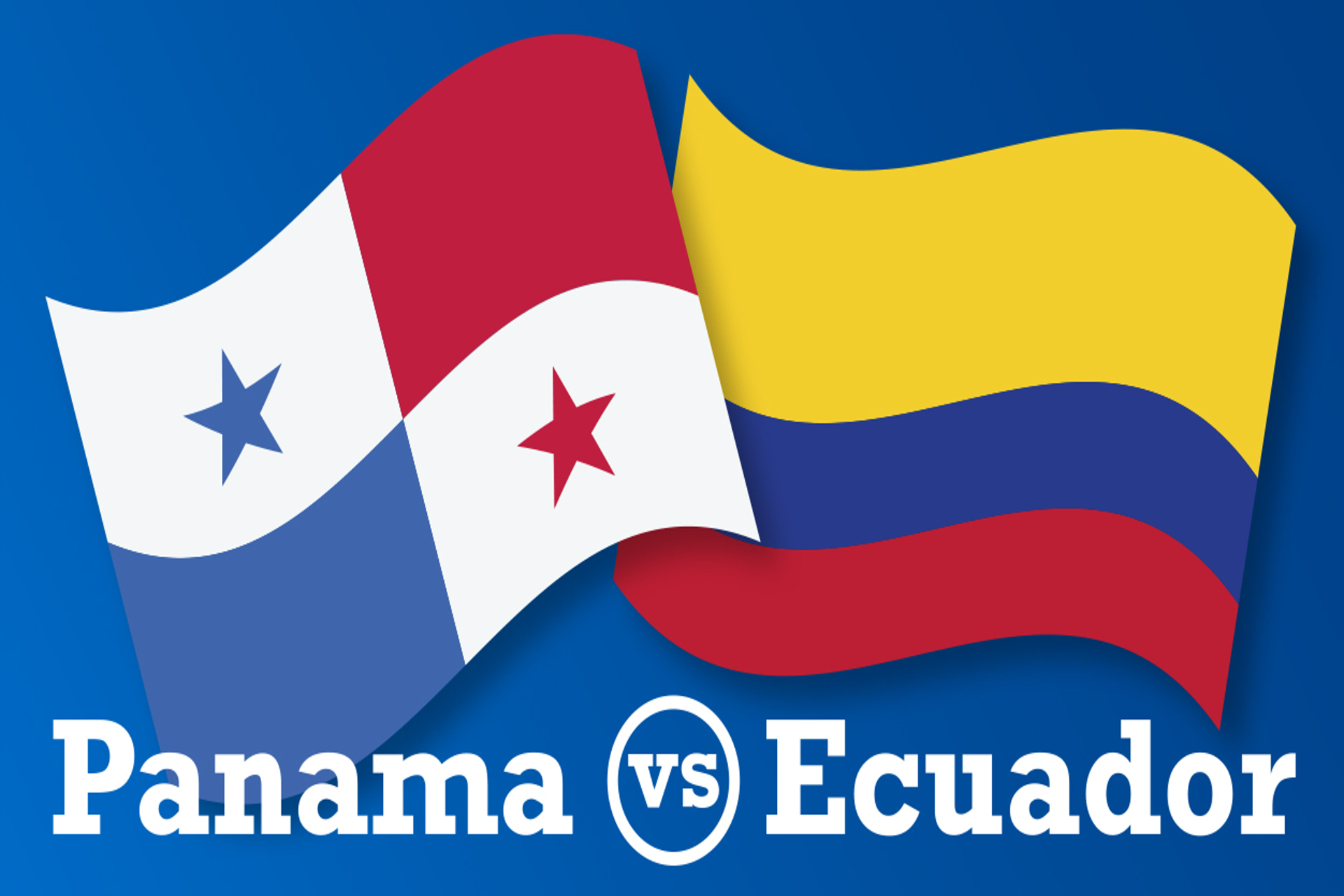 Panama and Ecuador flag