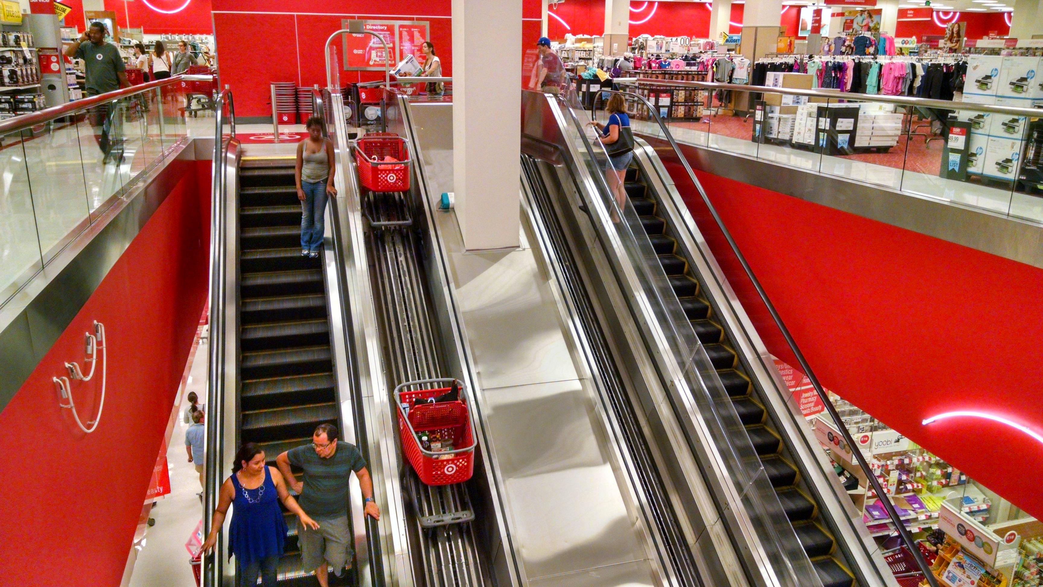 Shopping Cart elevator