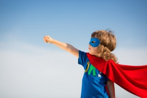 Super Kid Posing - Dreaming!