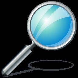 Magnifying Glass Icon Search Liz Larroquette